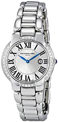Raymond Weil Women's 5229-STS-00659 Jasmine Diamond Stainless-Steel Bracelet Watch