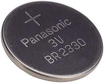 PANASONIC BATTERIES BR2330 LITHIUM BATTERY, 3V, COIN CELL (1 piece)