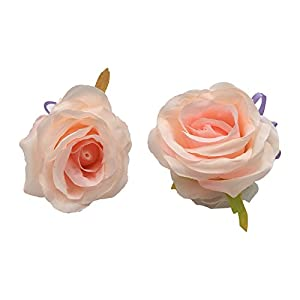 Abbie Home Prom Wrist Corsage Brooch Boutonniere Set Wedding Event Party Wristband Hand Flower Décor (450PI) 33