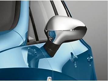 Recubrimiento espejos cromado brillante ORIGINALES SEAT IBIZA / EXEO / LEON 2009: Amazon.es: Coche y moto