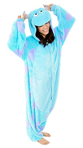 [Gillbro Anime Adult Animal Cosplay Costume Pajamas,Bull,XL] (Disney Cartoon Mad Hatter Costume)