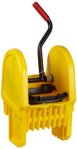 Rubbermaid Commercial FG757588YEL Down Press Wringer for WaveBrake Buckets, 16-32-Ounce Capacity, Yellow