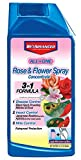 BioAdvanced 100532506 Bayer All in One Rose & Flower Care Spray Concentrate, 32-Ounce, White