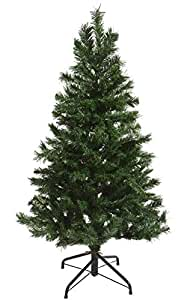 1.8M Artificial Christmas Tree with Metal Foldable Stand Family Evergreen tree decorations shopping mall holiday decorations