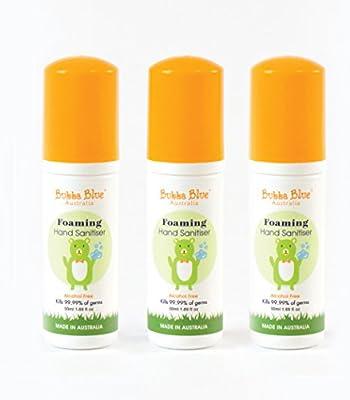 Bubba Blue 50ml Hand Sanitiser Orange 3 Pack Amazon Com Au Baby