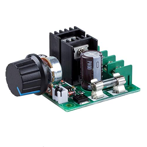 Love^Store - Motor Controller - 10A DC Speed Controller High Torque DC Motor Speed Controller Dimmer Voltage Regulator with Knob - by Love^Store - 1 PCs ()