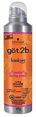 Got2b Kinkier Curling Mousse
