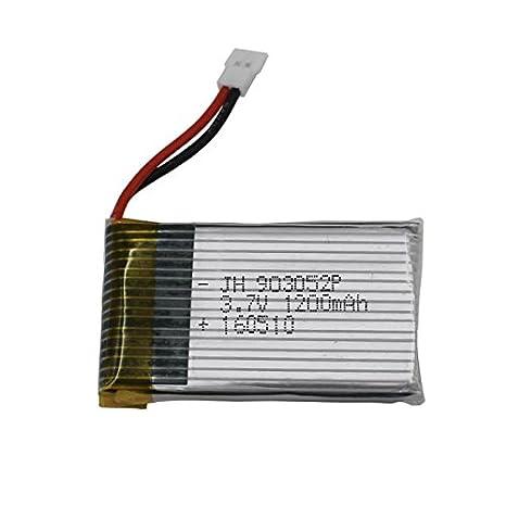TwoCC Actualice la batería 3.7V 1200Mah para Syma X5 X5Sc X5Sw-1 ...