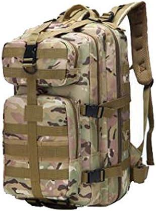 JTWJ 新しい増加3P攻撃戦術バックパックアーミーファン屋外機能バックパック防水CS迷彩登山バッグ35 L (Color : 8)