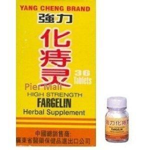 Haute résistance Fargelin 36 comprimés par bouteille