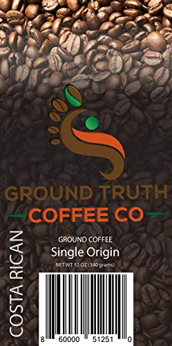 Costa Ground Coffee Rican (Costa Rican Coffee (Ground Single-Origin Coffee))