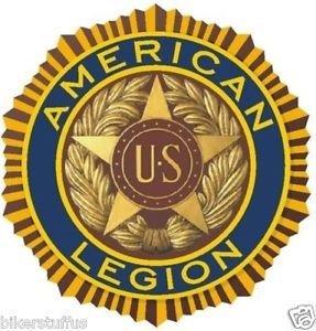 American Legion Bumper Sticker Military Armed Forces Bumper -