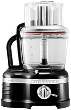 Kitchenaid Artisan - Robot de cocina, 3.8 l, color negro y transparente: Amazon.es: Hogar