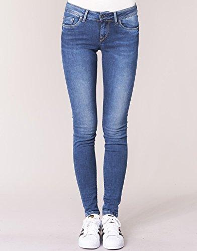 Skinny Pepe Z63 Jeans Blau Donna Soho nnxOS4F