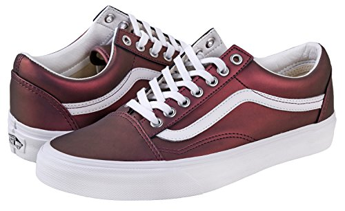 Vans Top Trainers Skool Gold Adults' Old Red Low Unisex UxqAUwBFa