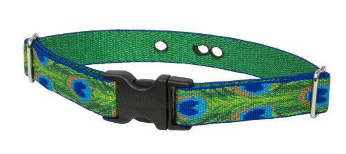 Lupine 1-Inch Tail Feathers 19-31-Inch Containment Collar Strap for Large Dogs, My Pet Supplies