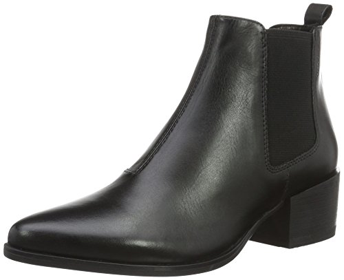 Vagabondo Damen Marja Chelsea Boots Schwarz (20 Nero)
