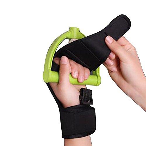 Enshey Rehabilitation Training Gloves Finger Splint Brace Ability Finger Gloves Brace Elderly Fist Stroke Hemiplegia Finger Anti-Spasticity Rehabilitation Auxiliary Training Gloves by Enshey (Image #6)