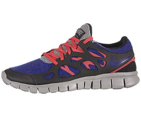 Nike Free Run 2 (GS) Laufschuhe vivid blue-vivid pink-pure platinum-white - 36,5