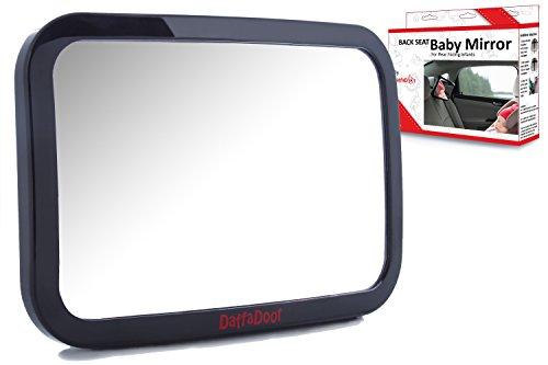 Baby Car Mirror - Super-Sized Rear...