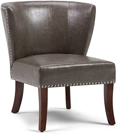 Simpli Home Jamestown 27 inch Wide Transitional Accent Chair