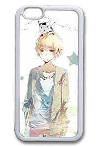 Anime Handsome Boy 13 Cute Hard Cover For iphone 5s Case TPU White Cases