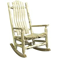 Montana Woodworks MWLR Montana Collection Log Rocker, Ready to Finish