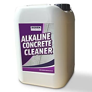 Alkaline floor cleaner floor matttroy for Spray on concrete cleaner