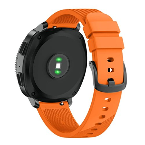 Price comparison product image Clearance ! Vanvler Band For Samsung Gear Sport Soft Silicone Replacement Wristband New (Orange)