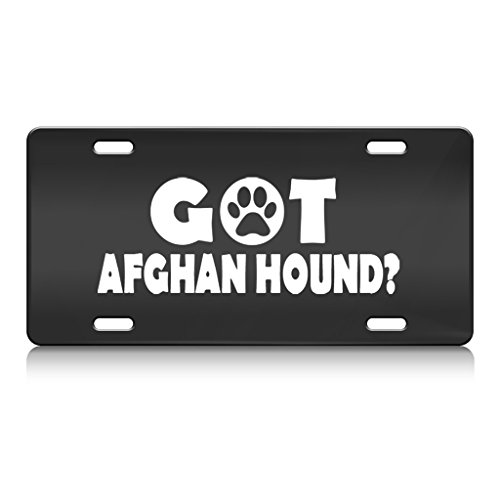 GOT AFGHAN HOUND Dog Dogs Metal License  - Got Afghan Hound Shopping Results