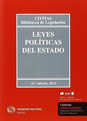 Leyes Políticas Del Estado Biblioteca de Legislación: Amazon.es: Alberti Rovira, Enoch, González Beilfuss, Markus: Libros