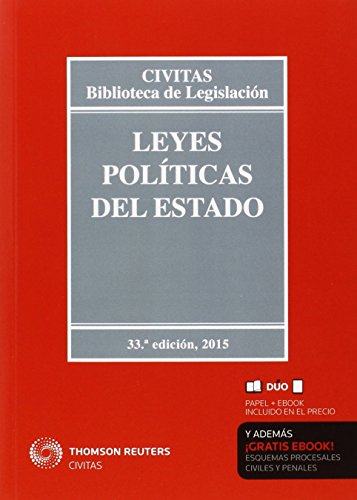 Descargar Libro Leyes Políticas Del Estado Aa. Vv.