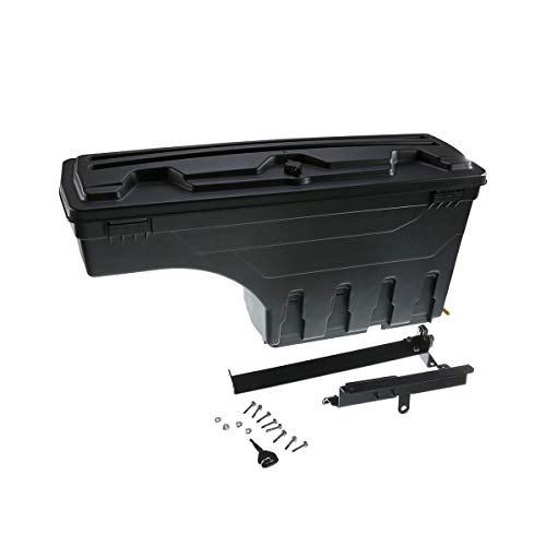A-Premium Truck Bed Storage Box Toolbox for Chevrolet Silverado 1500 2500 3500 GMC Sierra 1500 2500HD 3500HD 2007-2018 Rear Passenger Side