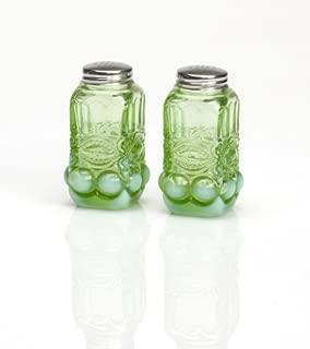 product image for Mosser Glass Eye Winker Opal Salt & Pepper Shakers in Green