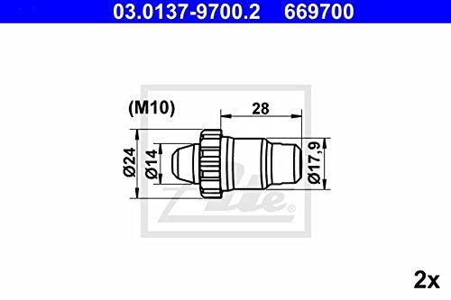 ATE 3013797002/Kit daccessoires feststellbrems P/âtisserie