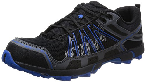 Inov8 - Zapatillas de running por caminos para hombres Roclite 295 - Gris / Azul - Azul / Gris, 42