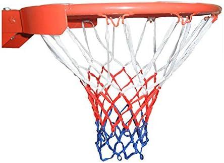 バスケットボールフープ、スプリングとネット付きリング付きアウトドアプロバスケットボールフープ45CMに最適