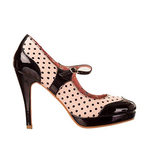 Banned - Pantuflas de caña alta Mujer negro