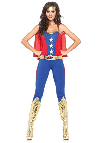 Super Hero Costume, Blue/Red