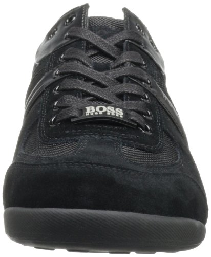 Men's BOSS Black Akeen Green Hugo Sneaker Suede by Boss zUOqxIS