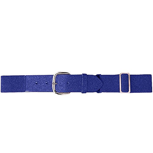 Augusta Sportswear Elastic Baseball Belt, One Size, Purple