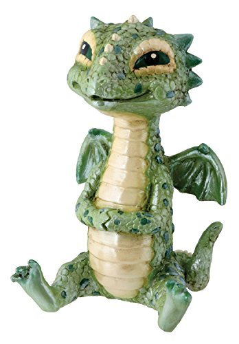- YTC Green Baby Dragon Collectible Serpent Figurine Statue Reptile Statue