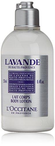 L'Occitane Lavender Organic Body Lotion, 8.4 Fl Oz