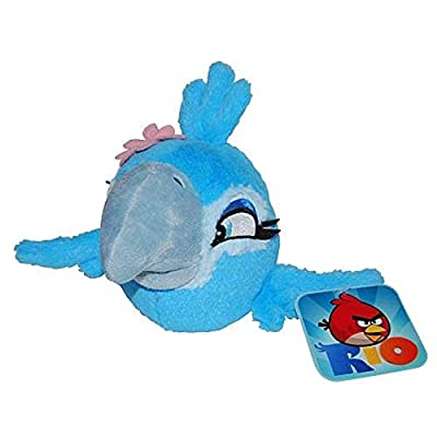 "Commonwealth Angry Birds 5\"" Basic Plush Rio Birds: Jewel [Toy]: Toys & Games [5Bkhe0506519]"