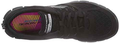 Skechers Mujer Deporte de Zapatillas Negro Flex Appeal wwfFH