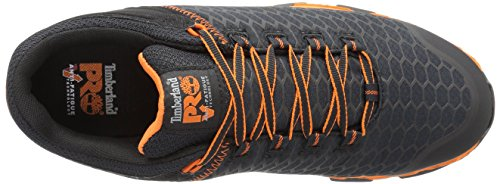 Timberland PRO Mens Powertrain Sport Alloy Toe EH Industrial and Construction Shoe Black Synthetic/Orange 7NFrpwZv