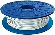 Dremel PLA 3D Printer Filament, 1.75 mm Diameter, 0.5 kg Spool Weight, White