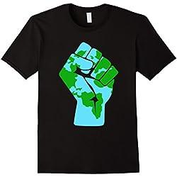 Mens #Resist Global Warming Mother Earth Anti-Trump T-Shirt XL Black