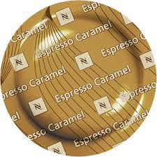 50 Nespresso Espresso Caramel Coffee Cartridges Pro NEW, (for Gemini , Zenius , Aguila Coffee (Espresso Caramel)