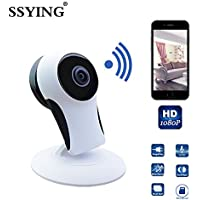 SSYING HD 1080P Smart Wireless Baby Monitor IP Camera Wifi Baby Security Camera Electronic Network Monitors For IOS Android Cellphone